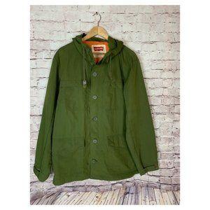 Levis Hooded Field Jacket Rifle Green